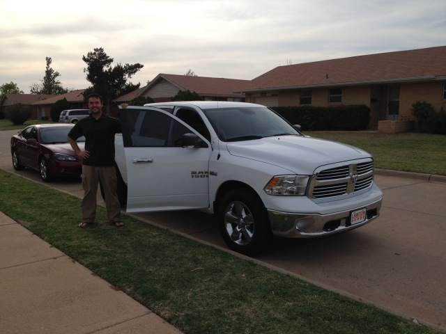 2014 Ram 1500 Half-Ton Crew Cab tow vehicle