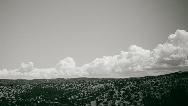 Clouds like mountains