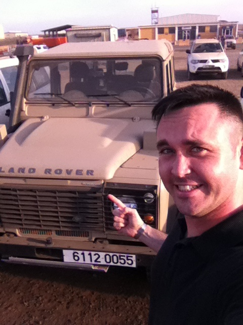 Land Rover Defender Military Vehicle Towing