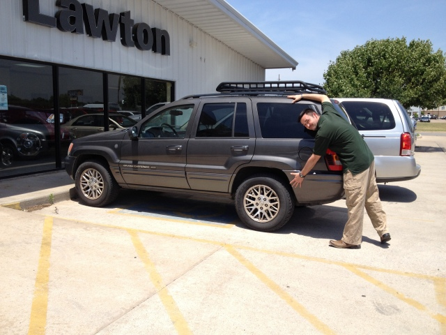 2004 Jeep Grand Cherokee tow vehicle