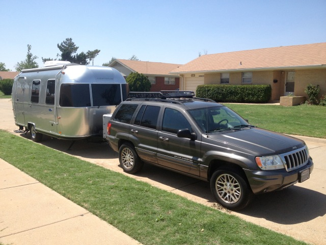 2004 Jeep Grand Cherokee Towing Airstream Sport