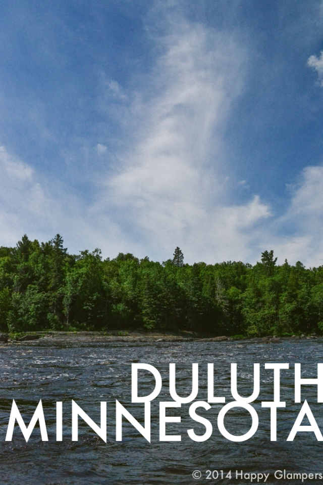 Glamping road trip to duluth minnesota