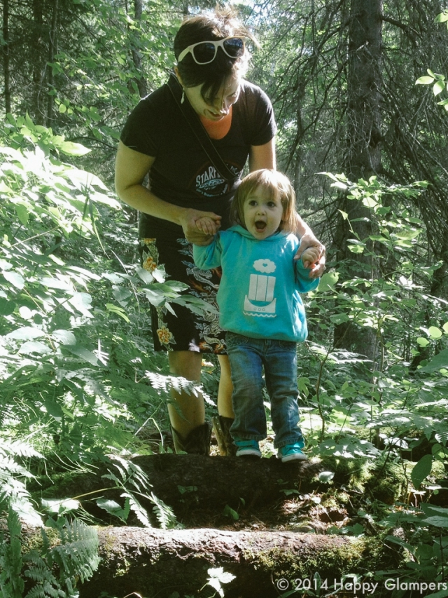 Nature with young children Jay Cooke Duluth MN