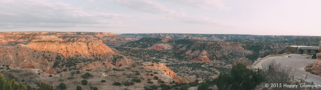 Palo Duro Canyon State Park Panorama