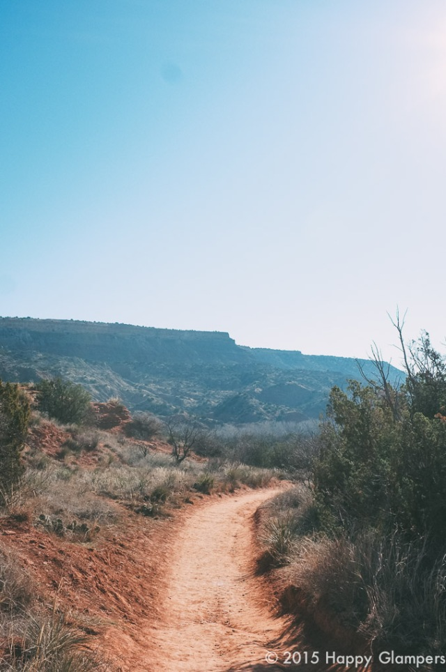Hiking with kids at Palo Duro Canyon State Park