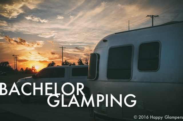 solo camping airstream